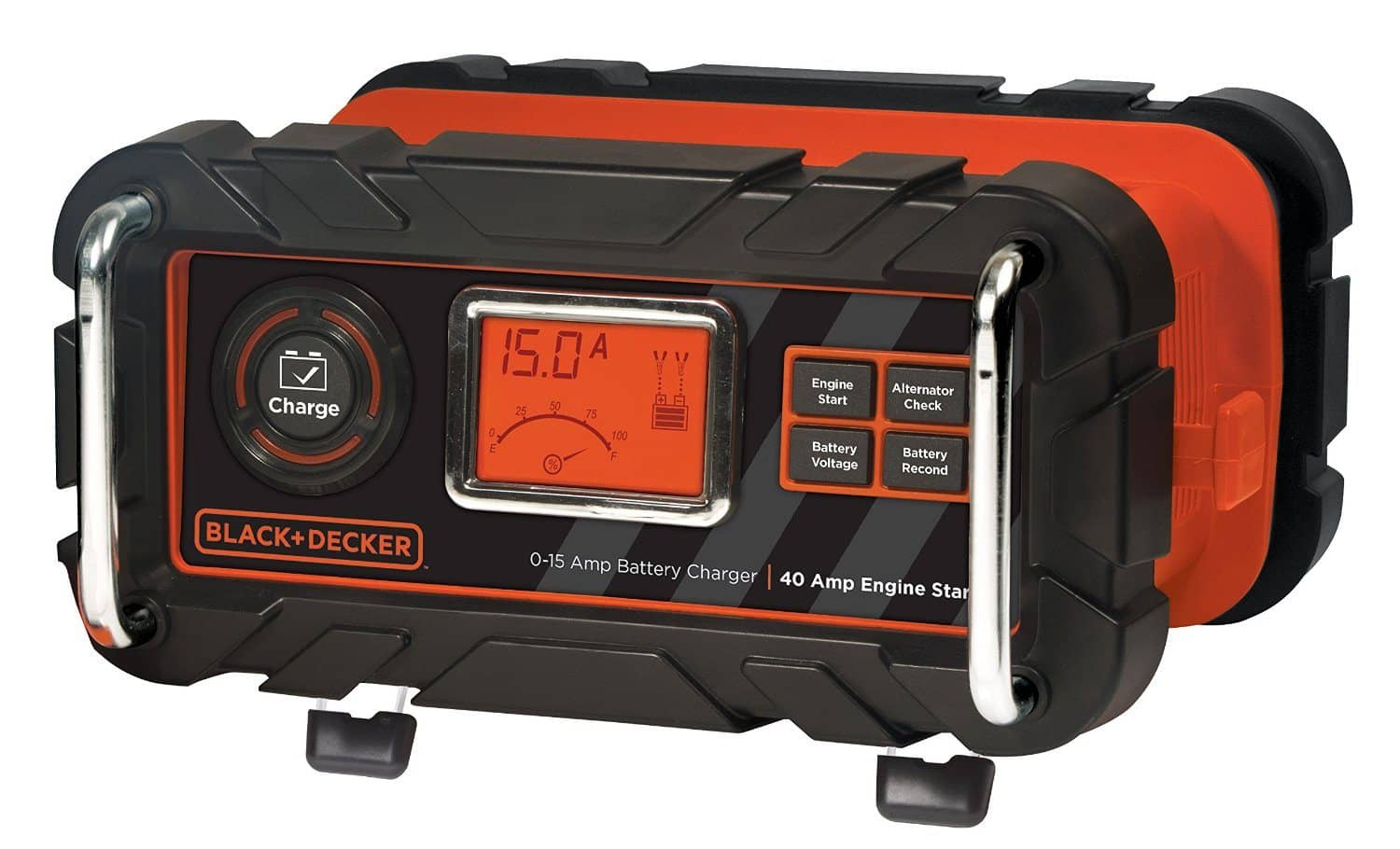 Black & Decker BC15BD 15 Amp Bench Battery Charger with Engine Start Timer