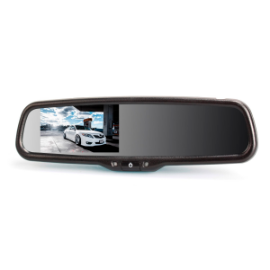 "AUTO-VOX T1400 4.3"" LCD Auto Adjusting Brightness Car Rearview back up Mirror Monitor Screen for Rear View License Plate Backup Camera for Most Car Model"