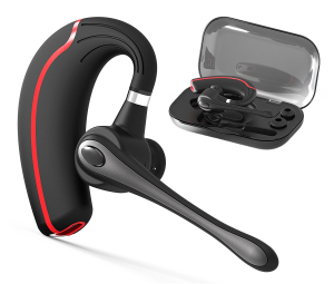 Bluetooth Headset, Hands Free Wireless Earpiece V4.1 with Noice reduction Mic for Office/Driving