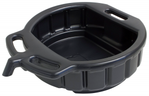 Lisle 17942 Black Plastic 4.5-Gallon Drain Pan