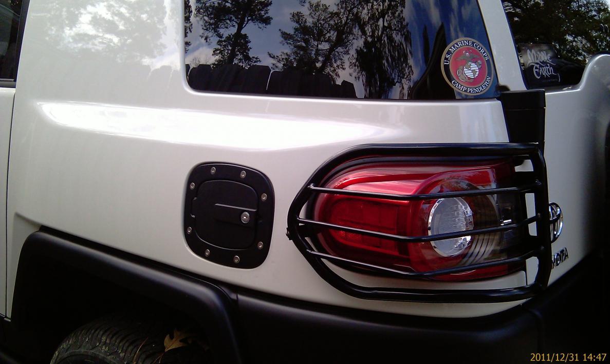 Fuel Door with Lock