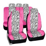 FH-FB121115 Zebra Prints Car Seat Covers