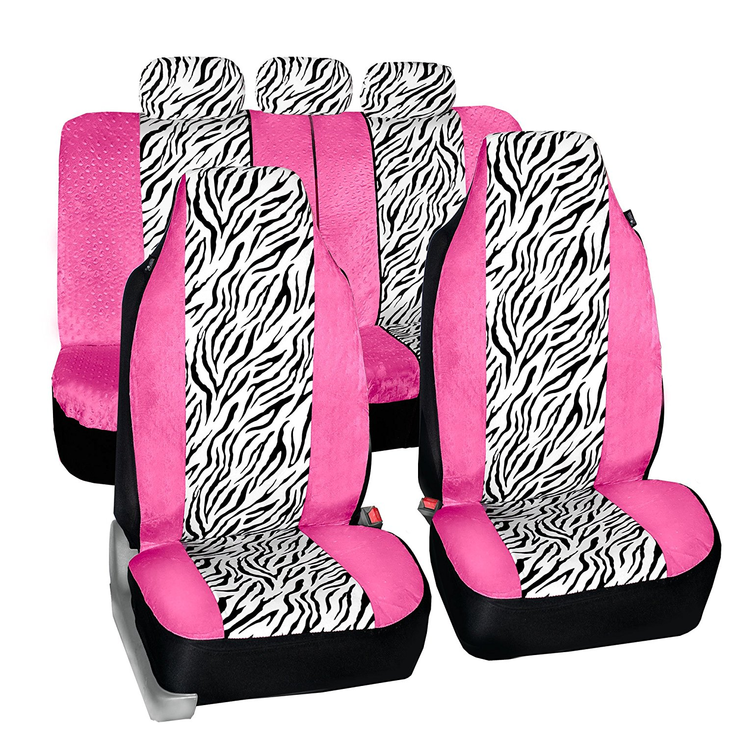 FH FB121115 Zebra Prints Car Seat Covers