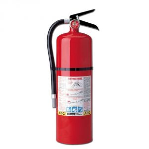 Kidde 466204 Pro 10 MP Fire Extinguisher, UL Rated 4-A, 60-B:C, Red