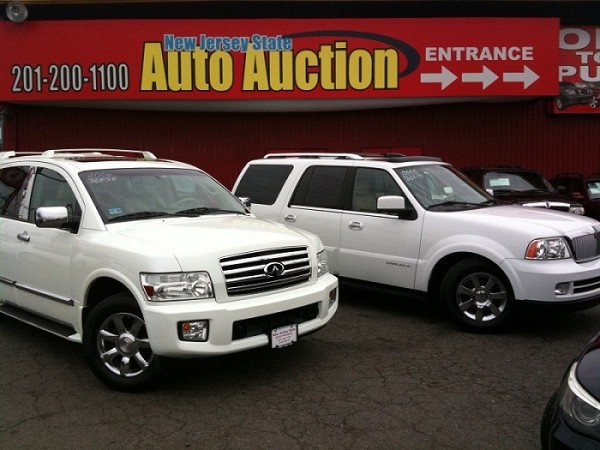 New Jersey auto auction