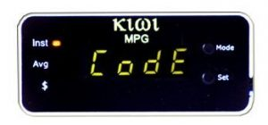 PLX Kiwi MPG Trip Calculator and OBDII Scanner