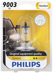 Philips 9003 Standard Halogen Replacement Headlight Bulb