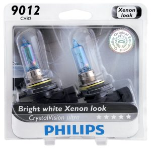 Philips 9012CVB2 CrystalVision Ultra Upgrade Headlight Bulb