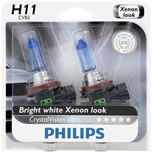 Philips H11 CrystalVision Ultra Upgrade Headlight Bulb