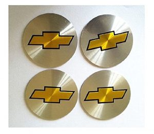 CHEVROLET 55 MM WHEEL CENTER CAP EMBLEMS STICKER DECAL