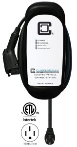 ClipperCreek HCS-40P, 240V, 32A, EV Charging Station
