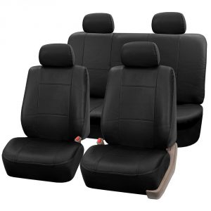 FH GROUP FH-PU002114 Classic Exquisite Leather Full Set Car Seat Covers
