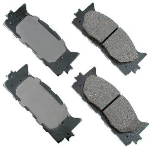 Akebono ACT1222 ProACT Ultra-Premium Ceramic Brake Pad Set