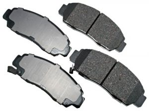 Akebono ACT787 ProACT Ultra-Premium Ceramic Brake Pad Set