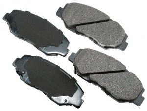 Akebono ACT914 ProACT Ultra-Premium Ceramic Brake Pad Set