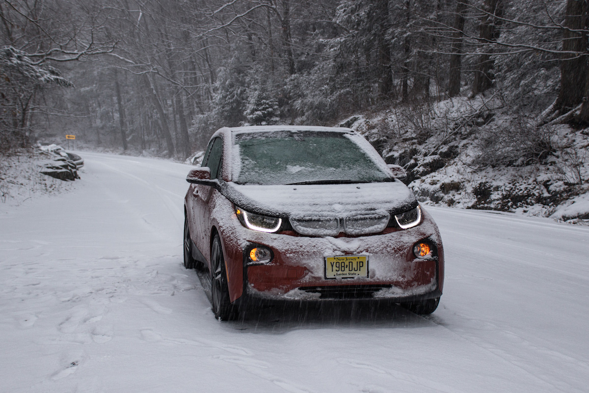 Electric Cars vs Snow