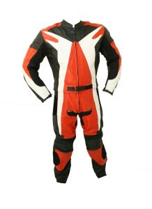 Perrini 2pc Motorcycle Riding Racing Leather Suit