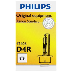 Philips D4R Standard Xenon HID Headlight Bulb