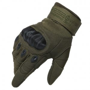 REEBOW GEAR Tactical Hard Knuckle Gloves Full Finger Miliatry Army Shooting Gloves