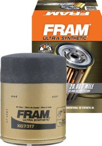 FRAM XG7317 Ultra Synthetic Spin-On Oil Filter with Sure Grip