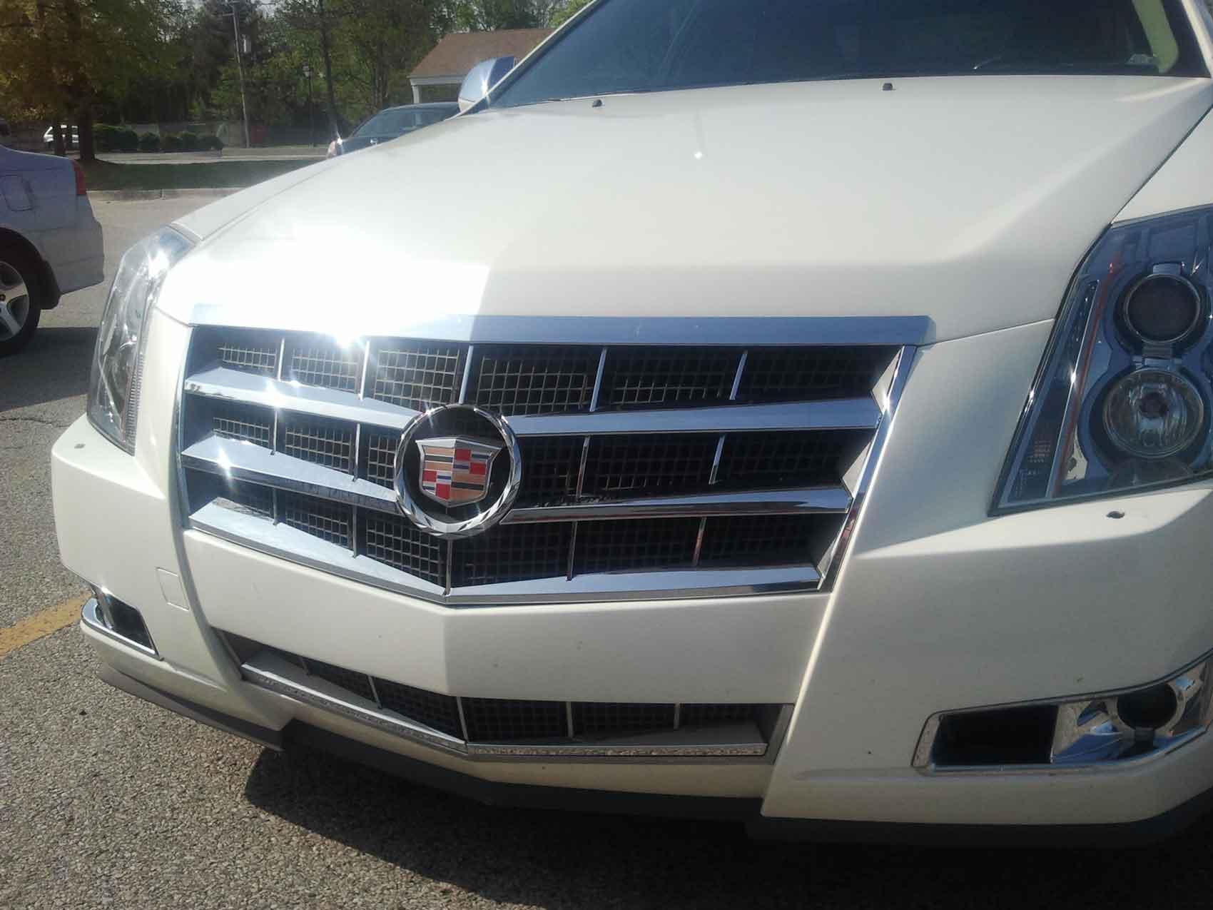Cadillac Chrome Grille