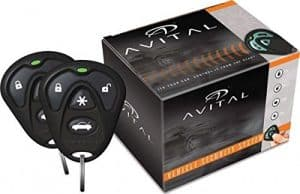 Avital Remote Start System with Two 4-Button Remote