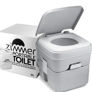 Zimmer Comfort Portable Toilet