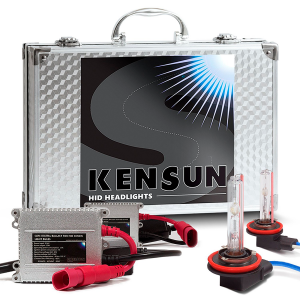 HID Xenon Headlight Conversion Kit by Kensun H11 Review