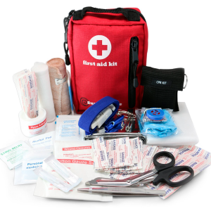 Small First Aid Kit for Car & Cycling