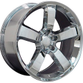 20x9 Wheels, Tires and TPMS Fit Dodge, Chrysler - Charger SRT 8 Style Chrome Rims w/Tires