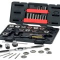 GearWrench 3887 Tap and Die 75 Piece Set
