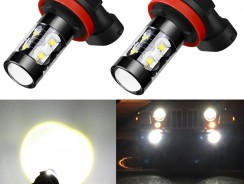 Alla Lighting H8/H11-50W LED Fog Light Bulbs Review