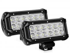Nilight 2PCS 6.5″ 36w Flood Light Bar Review